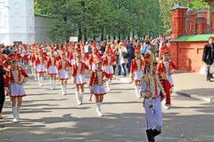 L'orchestre de chéri sur la rue de ville. Photographie stock