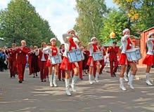 L'orchestre de chéri sur la rue de ville. Photographie stock libre de droits
