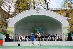 L'orchestre du Gouverneur de la région de Moscou Image libre de droits