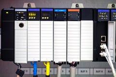 L'ordinateur de PLC photo stock