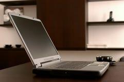 L'ordinateur portatif moderne Photographie stock