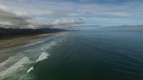 L'Oregon aereo Canon tira stock footage