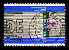 L'organe, Europa (C E P T ) serie, vers 1985 photographie stock libre de droits