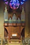 L'organo della chiesa fotografie stock libere da diritti