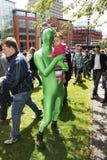 L'orgoglio gaio annuale 2011 di Bristol Fotografia Stock Libera da Diritti