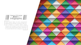 L'origami de papier dénomme - le fond de papier illustration stock