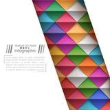 L'origami de papier dénomme - le fond de papier illustration libre de droits