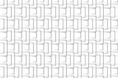 L'originale geometrico si rannicchia illustrazione vettoriale