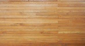 L'orizzontale di legno delle plance di Brown allinea il fondo Fotografie Stock Libere da Diritti