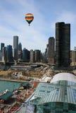 L'orizzonte del Chicago Fotografie Stock Libere da Diritti