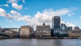 L'orizzonte della città di Londra Immagini Stock