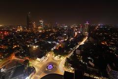 L'orizzonte di Colombo immagini stock