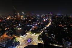 L'orizzonte di Colombo fotografie stock