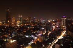 L'orizzonte di Colombo fotografia stock