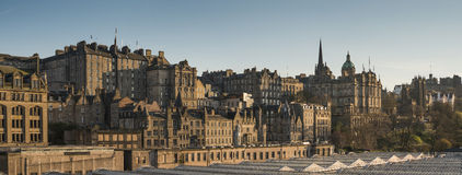 L'orizzonte di Edimburgo Fotografie Stock Libere da Diritti