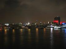 L'orizzonte di Londra Fotografia Stock Libera da Diritti