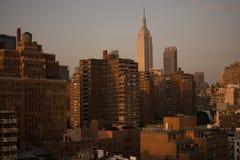 L'orizzonte di Manhattan fotografia stock libera da diritti