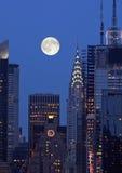 L'orizzonte di New York City Immagine Stock Libera da Diritti