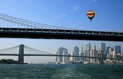 L'orizzonte di New York City Fotografie Stock Libere da Diritti