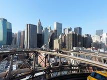 L'orizzonte di NY Immagini Stock Libere da Diritti