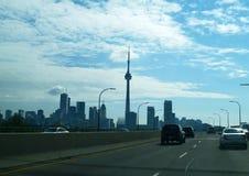 L'orizzonte di Toronto Immagini Stock Libere da Diritti