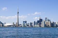 L'orizzonte di Toronto Fotografie Stock Libere da Diritti