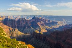 L'orlo del nord del Grand Canyon immagine stock libera da diritti