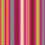 L'ornamental de couleur raye le ramassage Photographie stock
