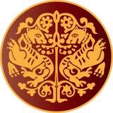 L'ornamento di Byzantian Fotografie Stock Libere da Diritti