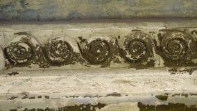 L'ornamento interno di vecchio tempio video d archivio