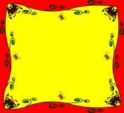 L'ornement avec la couleur et le guindineau Photos libres de droits