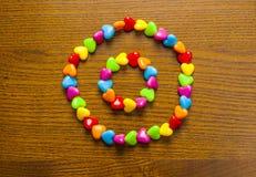 L'ornement des enfants intelligents et colorés Photographie stock libre de droits