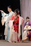 L'oro e la giada di storia di amore di opera di Taiwan ryoen Fotografia Stock