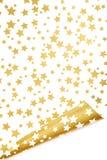 L'oro stars la priorità bassa Immagini Stock