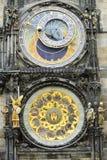 L'orologio astronomico, Praga, repubblica Ceca Fotografia Stock Libera da Diritti