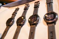 L'orologio astuto di Garmin Fenix 5 è stato rivelato in Tailandia Immagine Stock Libera da Diritti