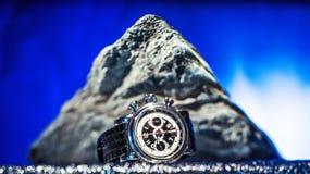 L'orologio degli uomini Fotografia Stock