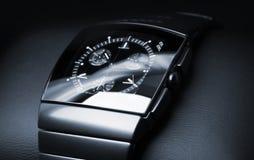 L'orologio degli uomini di lusso fatto di ceramica alta tecnologia Fotografia Stock Libera da Diritti