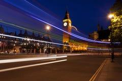 L'orologio del grande Ben a Londra Fotografia Stock