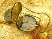 L'orologio della mano immagini stock