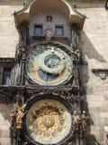 L'orologio di astronomyl Fotografia Stock