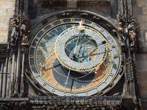L'orologio di astronomyl Immagine Stock
