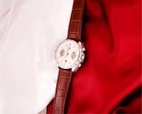 L'orologio meccanico degli uomini fotografia stock