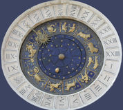 L'orologio veneziano fotografia stock
