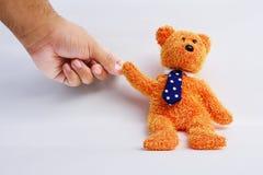 L'orso dell'orsacchiotto ha isolato Fotografia Stock Libera da Diritti