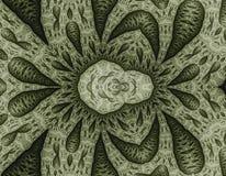 L'os de fractale structure le modèle (Julia a placé) Image libre de droits