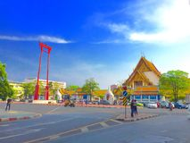 L'oscillation géante à Bangkok Photographie stock