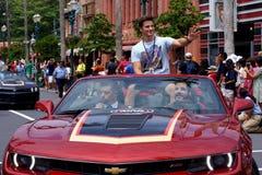 L'ospite Matt Lanter della celebrità durante lo Star Wars Weekends 2014 Immagine Stock