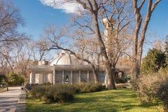 L'osservatorio ed il planetario nel mare di Varna fanno il giardinaggio, la Bulgaria Fotografia Stock Libera da Diritti