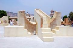 L'osservatorio Jantar Mantar Fotografie Stock Libere da Diritti